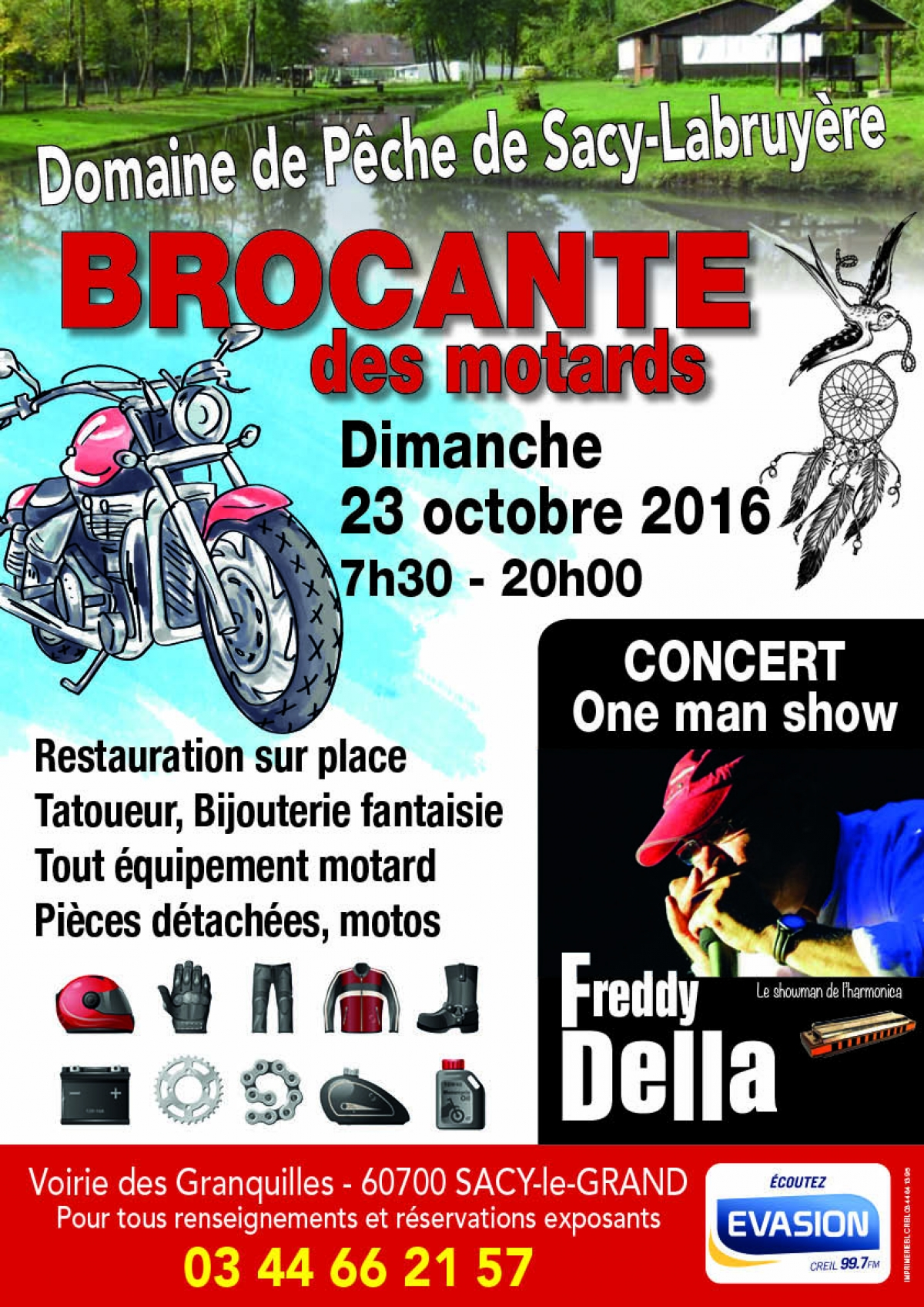 la brocante des motards l 39 agenda sorties evasion evasion. Black Bedroom Furniture Sets. Home Design Ideas