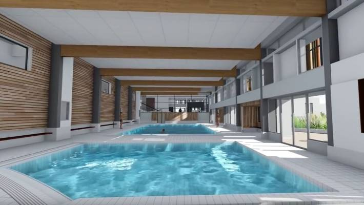 Les travaux de r novation de la piscine ont d but for Rambouillet piscine