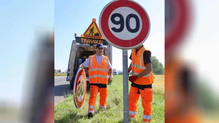 Les Yvelines enterrent la limitation à 80 km/h