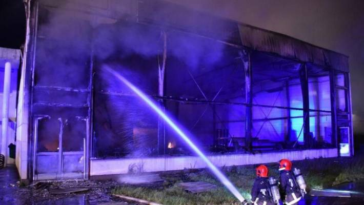 Incendie criminel au gymnase Romain-Rolland de Sartrouville